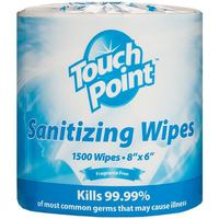 Alcohol Sanitizing Wipes (custom size)